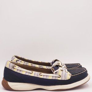 Sperry top sider two eye boat shoes B253